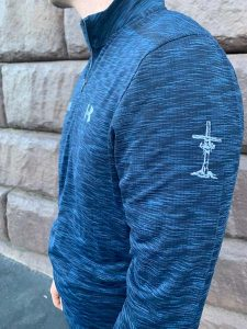 Navy Pullover Sideview
